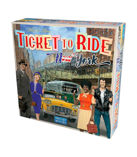 Ticket to Ride – New York