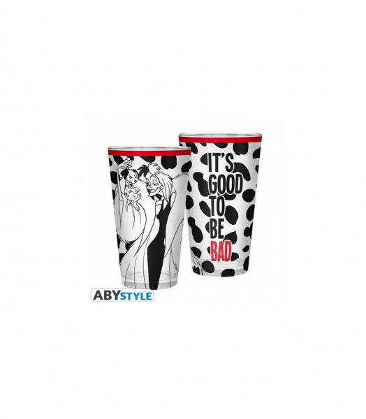 Crudelia – Disney – Tazza Vetro 400 ML