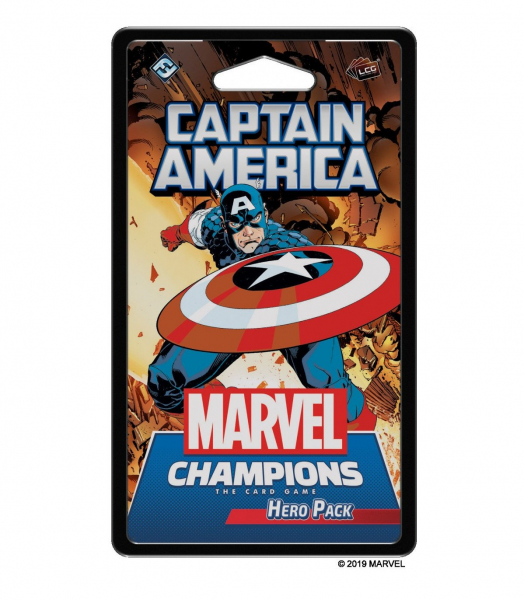 Marvel Champions LCG – Capitan America – Pack Eroe
