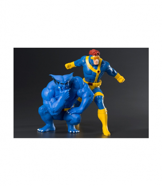 Cyclops & Beast – X-men – Statua 18cm