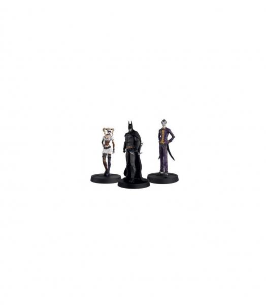 Batman, Joker & Harley Quinn – DC Comics – Statua 13cm