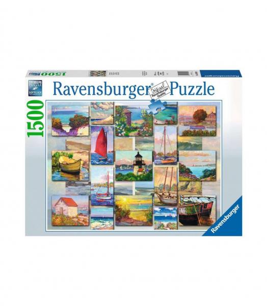 Collage Costiero – puzzle 1500 pezzi