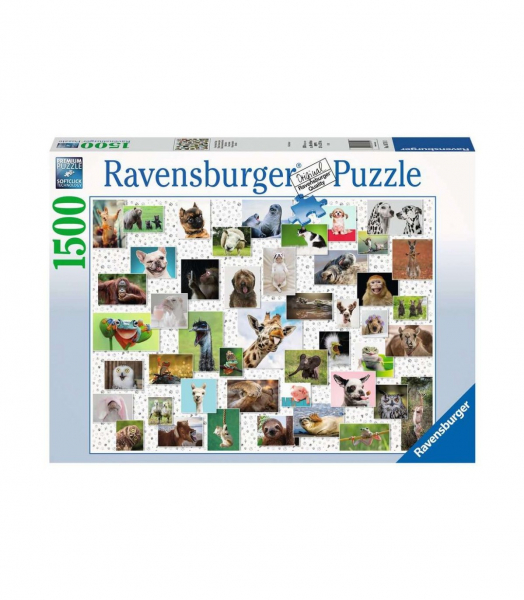 Collage di Animali – puzzle 1500 pezzi