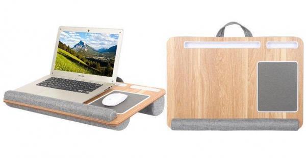 Laptop Desk portatile con cuscino