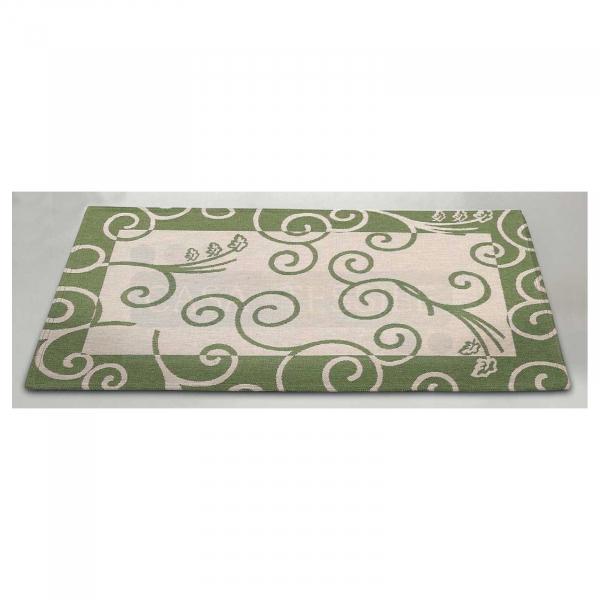 Trama & Ordito RICCIOLI tappeto multiuso cm 100×150 Jacquard ciniglia