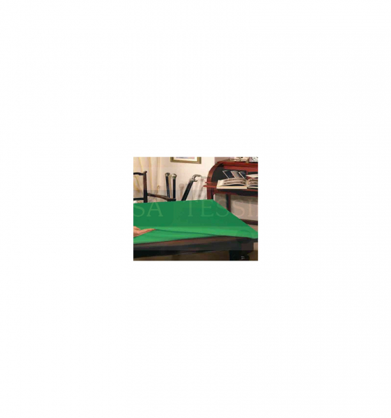 Copritavolo sottotovaglia verde 4 posti cm 110×140