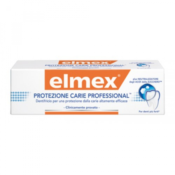 ELMEX DENT PROT CARIE PROF 75ML
