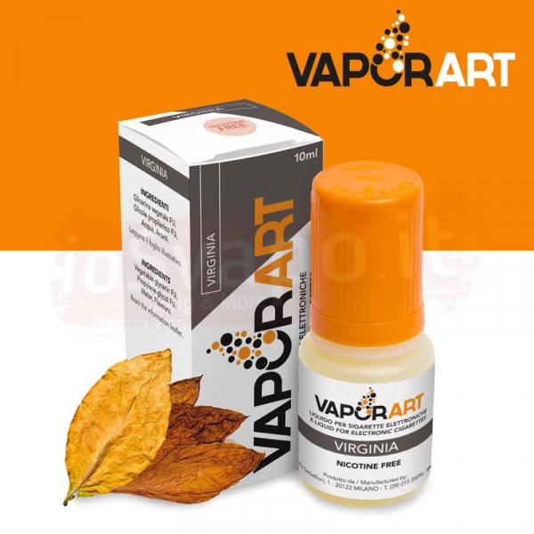 VaporArt – VIRGINIA 10ml Con e Senza Nicotina