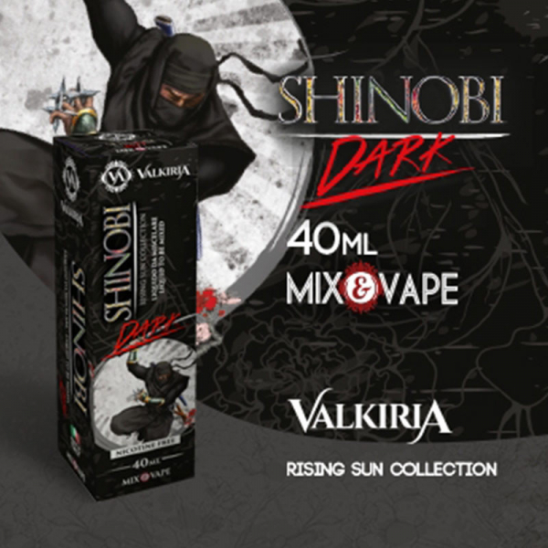 VALKIRIA – SHINOBI DARK mix&vape 40ml