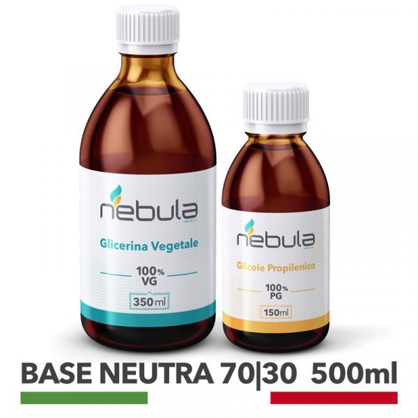 Nebula – Kit Base Neutra 500ml 70 VG / 30 PG