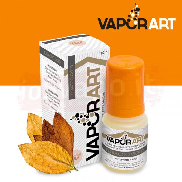 VaporArt – TOBACCO GOLD 10ml Con e Senza Nicotina