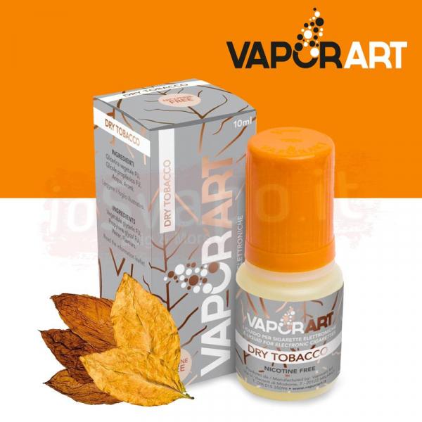 VaporArt – DRY TOBACCO 10ml Con e Senza Nicotina