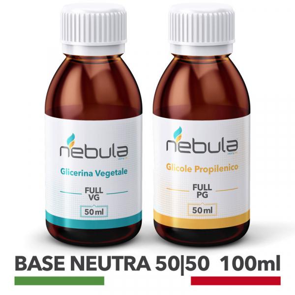 NEBULA KIT BASE NEUTRA 100 ML – 50ml VG + 50ml PG