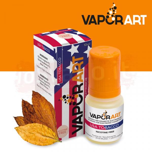VaporArt – USA TOBACCO 10ml Con e Senza Nicotina