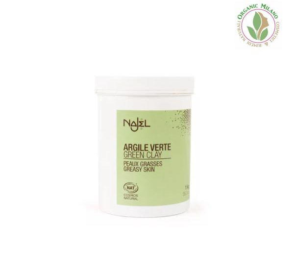 Argilla verde per pelle grassa – Najel