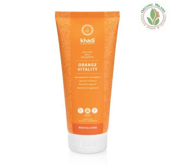 Shampoo Orange Vitality di Khadi