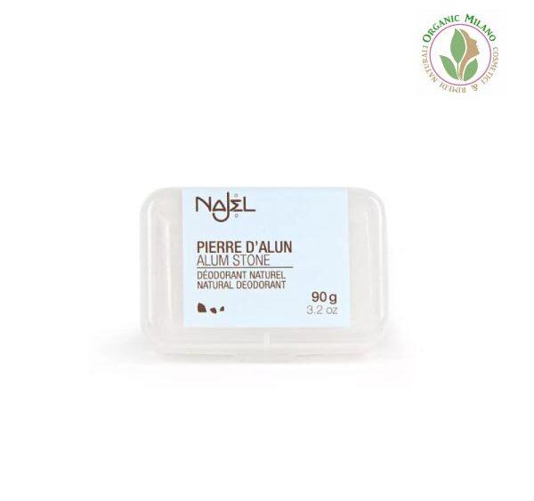 Pietra di allume – deodorante naturale – Najel