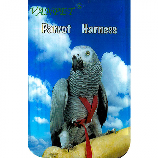 PETTORINA  PARROT HARNESS – X-LARGE