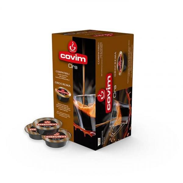 48 CAPSULE CAFFE' ESPRESSO ORA OROCREMA COVIM – compatibile Lavazza a Modo Mio