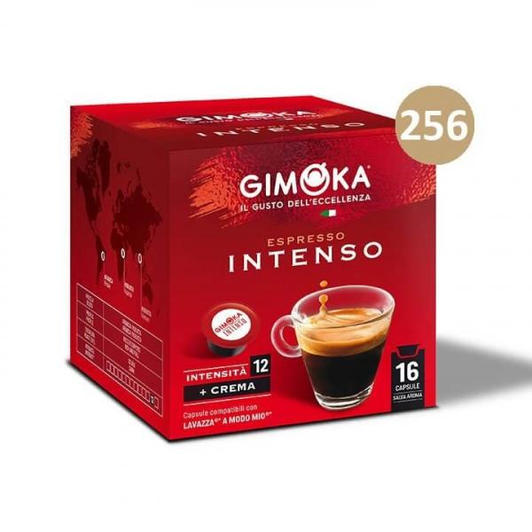 256 (16×16) capsule CAFFE' INTENSO  GIMOKA – Lavazza A Modo Mio