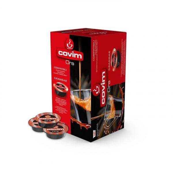 48 CAPSULE CAFFE' ESPRESSO ORA GRANBAR COVIM – compatibile Lavazza a Modo Mio