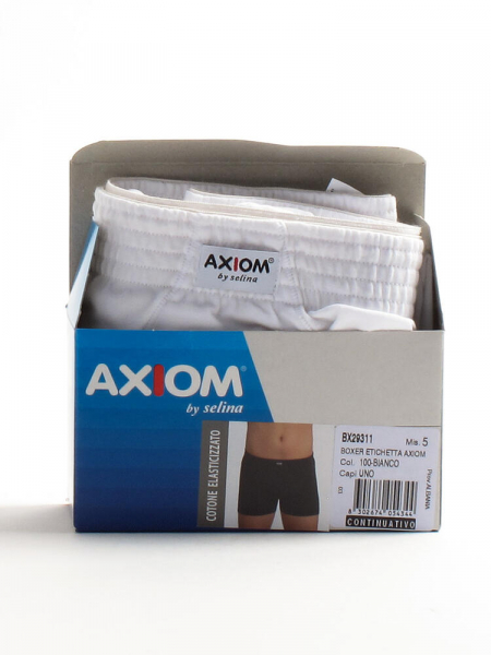 Boxer in cotone elasticizzato uomo axiom 2931 Axiom