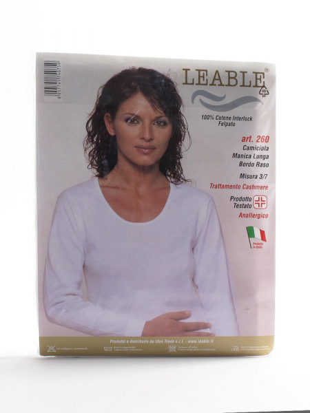 T-shirt manica lunga  donna leable 260 Leable