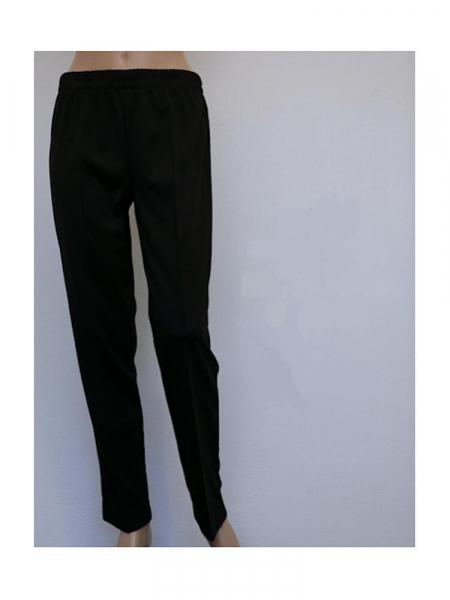 Pantalone elasticizzato donna look aneto Look