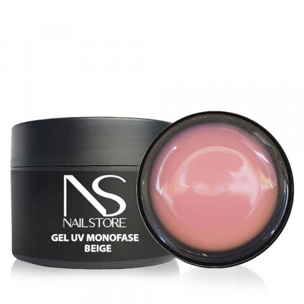 Gel UV Monofase Beige 50g