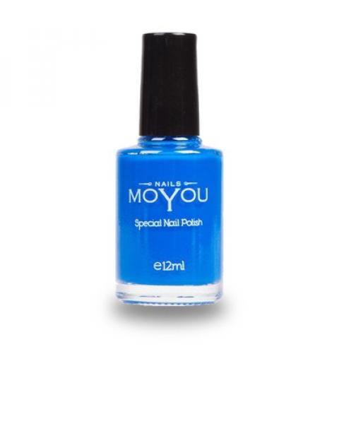 Smalto per Stamping MoYou Blu