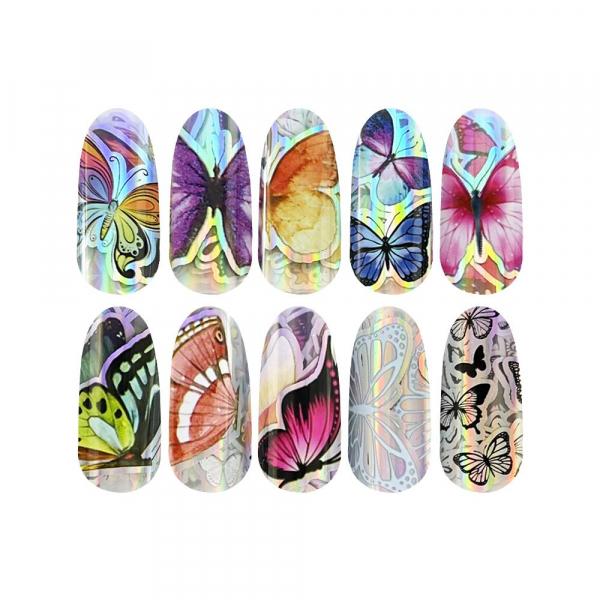 Transfer Foil Butterfly 102