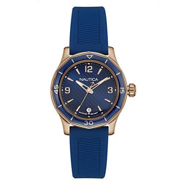 Orologio Nautica NWS 01 donna gomma blu – 36 mm