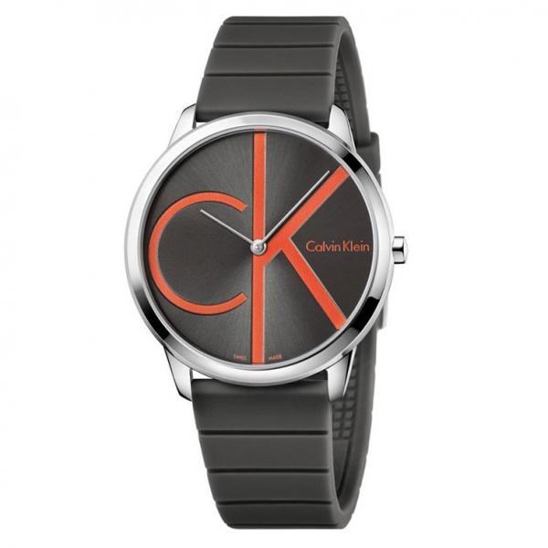 Orologio Calvin Klein Minimal gomma nero – 40 mm