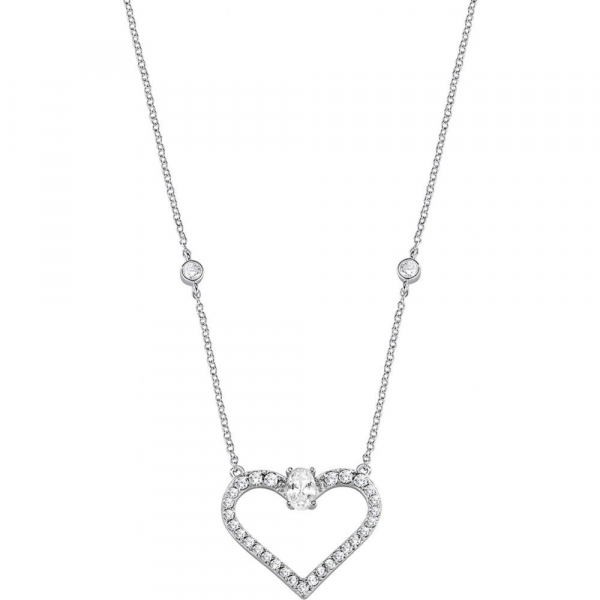Collana Morellato Cuori arg. 925 bianco – 45 cm