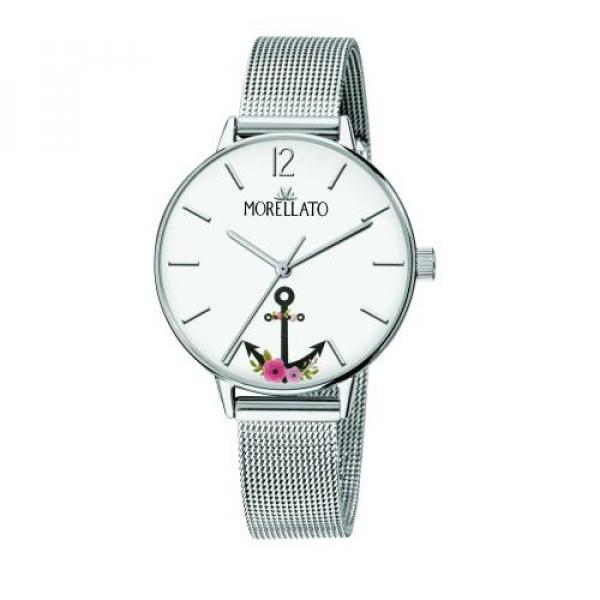 Morellato Ninfa 33mm 3h white dial ss br