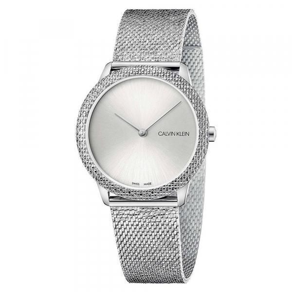 Orologio Calvin Klein Minimal glitter silver – 36 mm