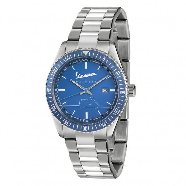 Orologio Vespa Urban acciaio / blu – 41 mm
