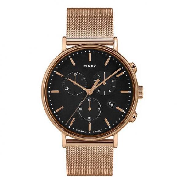 Orologio Timex Fairfield chrono oro rosa – 41 mm