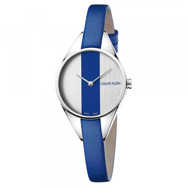 Orologio Calvin Klein Rebel blu – 28 mm