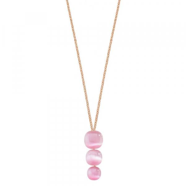 Pendente Morellato Gemma oro rosa / rosa – 40/45 cm