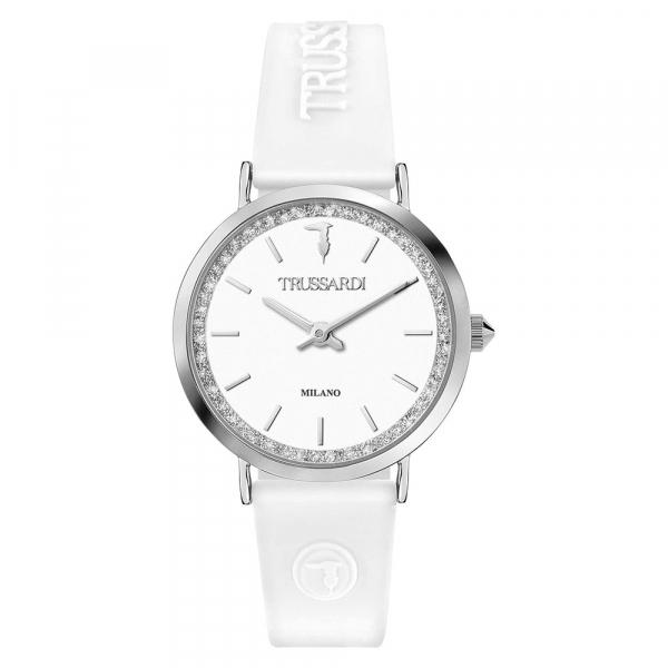 Orologio Trussardi T-motif bianco – 32 mm