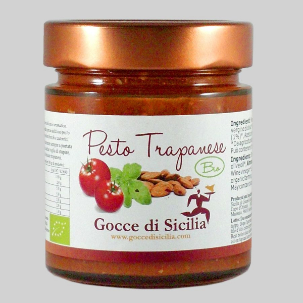 Pesto Trapanese BIO – 190 gr