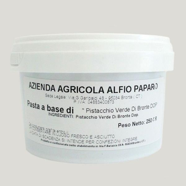 Pasta di Pistacchio Verde di Bronte DOP 250 gr – Base gelato