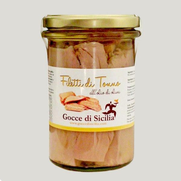 Filetti di Tonno all'Olio di Oliva 300 gr