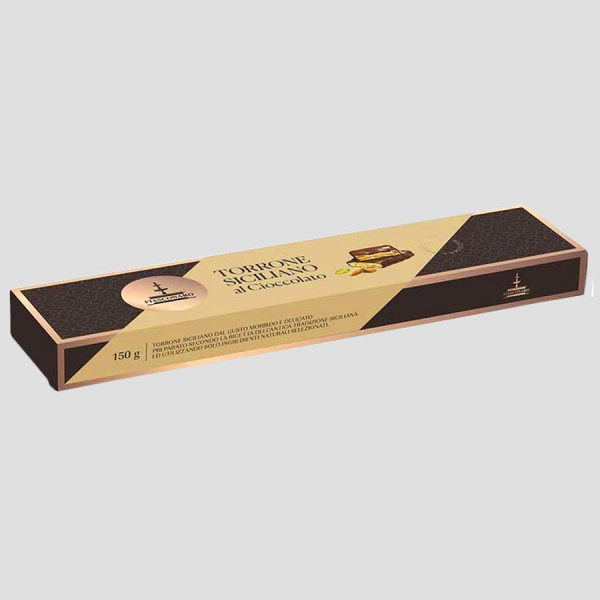 Torrone al Cioccolato Fondente Fiasconaro