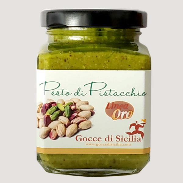 Pesto di Pistacchio 80% Linea Oro – 200 gr