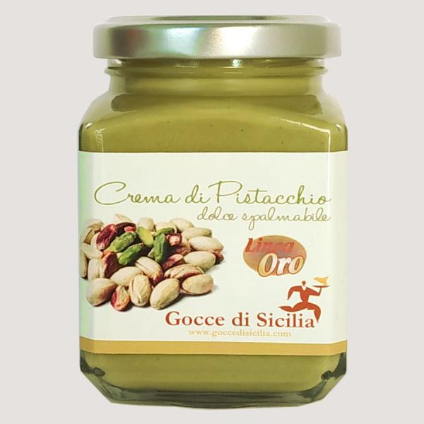 Crema di pistacchio dolce 40% Linea Oro – 190 g