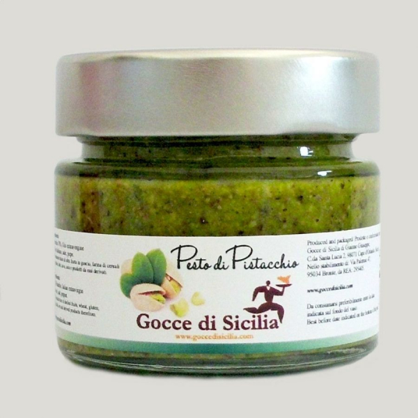 Pesto di Pistacchio 70% – 90 gr