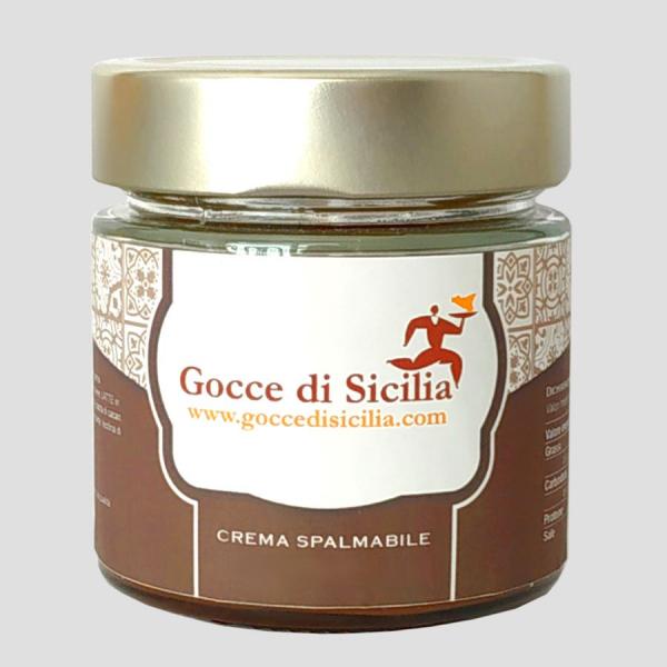Capriccio Fondente Barocco – Crema spalmabile al cioccolato
