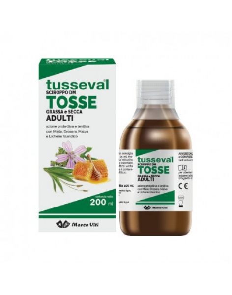 TUSSEVAL SCIROPPO TOSSE ADULTI 200ml